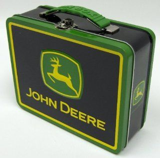 ONE John Deere Tin Lunch Box (Two Different Styles Available): Toys & Games