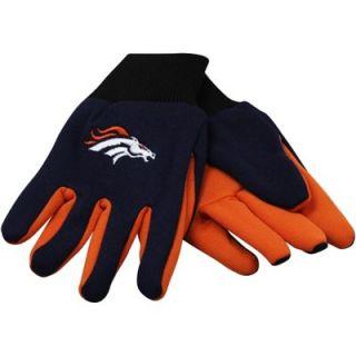 Denver Broncos Youth Utility Work Gloves   Orange