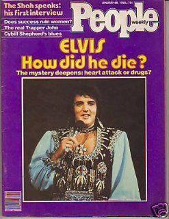 1980 People January 28 How Did Elvis Presley Die? Iran