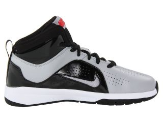 Nike Kids Team Hustle D 6 (Little Kid) Wolf Grey/Black/University Red