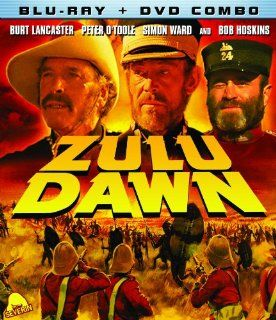 Zulu Dawn (Blu ray / DVD Combo): Burt Lancaster, Simon Ward, Denholm Elliott, Peter Vaughan, James Faulkner, Douglas Hickcox: Movies & TV