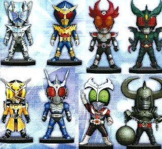 [Reservation product] Kamen Rider World Collectable Figure series vol. 18 [all eight full complete] (japan import): Toys & Games