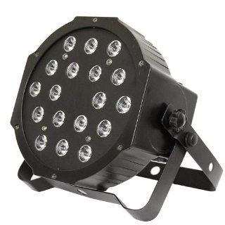 Optima Lighting 70w 18LED 3 in1 High LED 3ch 7ch Slim PAR Tri 7 Lighting   Electrical Equipment