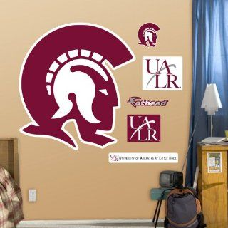 NCAA Arkansas Little Rock Trojans Logo Wall Graphic : Sports Fan Wall Banners : Sports & Outdoors