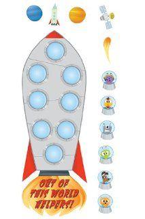 Edupress Ep 2267 Out Of World Helprs Job Chart: Toys & Games