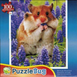 Puzzlebug 100 Piece Jigsaw Puzzle   Hungry Hamster