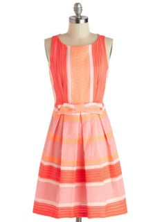 Eva Franco The Grapefruit and Powerful Dress  Mod Retro Vintage Dresses