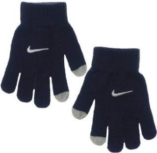 Nike Kids Touch Screen Gloves, Obsidian, 8/20 : Cold Weather Gloves : Clothing