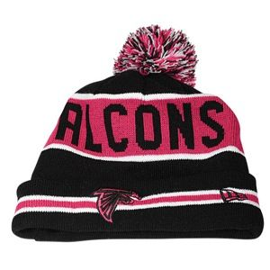 New Era NFL Breast Cancer Awareness Knit   Mens   Football   Accessories   Atlanta Falcons   Black/Pink