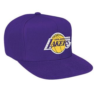 Mitchell & Ness NBA Solid Snapback   Mens   Basketball   Accessories   Los Angeles Lakers   Purple