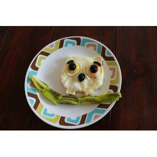 Funny Side Up Owl Shaped Egg Mold Novelty Egg Ring Combined Pepper And Salt Shakers Kitchen & Dining