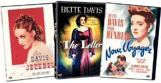 Bette Davis 3 Pak (The Letter/Jezebel/Now, Voyager): Bette Davis, Henry Fonda, Herbert Marshall, James Stephenson, Paul Henreid, George Brent, Margaret Lindsay, Donald Crisp, Fay Bainter, Richard Cromwell, Henry O'Neill, Spring Byington, Irving Rapper,