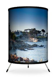 "Lamp In A Box TRI FAR SDLOV Featured Artists   Sean Davey ""Lover's Point"" Tripod Lamp   Desk Lamps"
