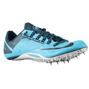Nike Zoom Superfly R4   Mens   Track & Field   Shoes   Gamma Blue/Metallic Silver/Dark Armory Blue