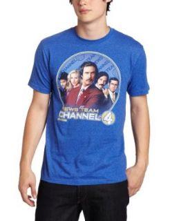 Fifth Sun Men's Anchor Team Paramount T Shirt, Blue, Medium Clothing