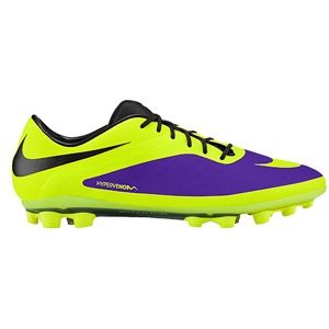 Nike Hypervenom Phatal AG   Mens   Soccer   Shoes   Electro Purple/Black/Volt