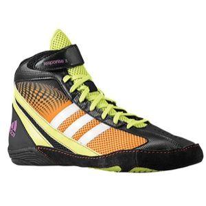 adidas Response 3.1   Mens   Wrestling   Shoes   Bahia Orange/Black/Bahia Glow