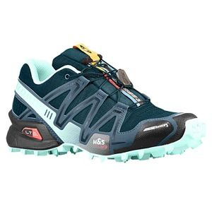 Salomon Speedcross 3 CS   Womens   Running   Shoes   Dark Slate Grey/Minearal Grey/Igloo Blue