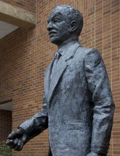Photography Poster   Statue of Fred Shuttlesworth former civil rights activis  Prints