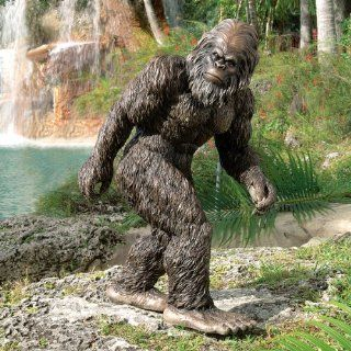 "Shop 21"" Mythical Bigfoot Home Garden Gorilla Statue Sculpture Figurine at the  Home D�cor Store. Find the latest styles with the lowest prices from XoticBrands"