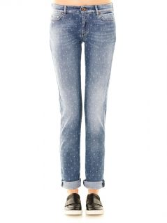 Ricordo mid rise boy fit star print jeans  Weekend Max Mara