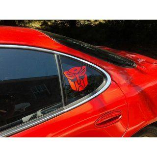 Transformers Autobot Vinyl Decal Sticker   Red: Automotive