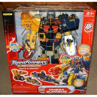 Transformers Energon Omega Supreme Electronic Action Figure Toys & Games