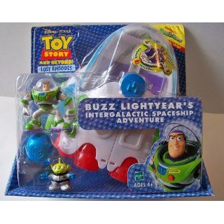 Toy Story and Beyond Lost Episodes Buzz Lightyear's Intergalactic Spaceship Adventure Toys & Games