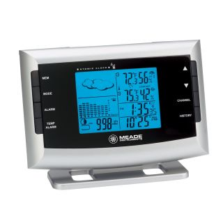 Meade Instruments Personal Wireless Weather Station with Atomic Clock   Weather Stations