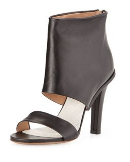 Leather High Heel Sandal, Black   Maison Martin Margiela   Black (38.0B/8.0B)