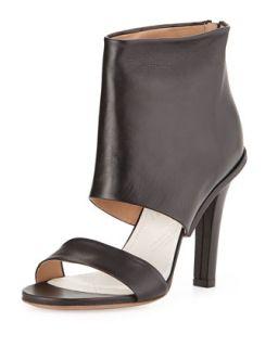 Leather High Heel Sandal, Black   Maison Martin Margiela   Black (38.0B/8.0B)