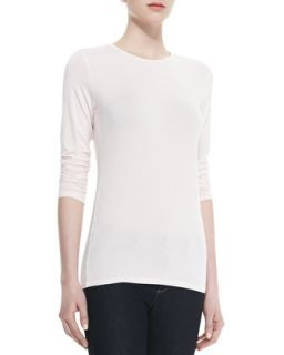 Womens Long Sleeve Soft Touch Tee   Majestic Paris for    Vert (4