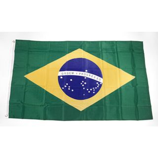 Premiership Soccer Brazil National Team Flag (300 1060)