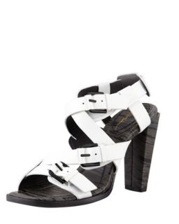 Ada Strappy High Heel Sandal, White   3.1 Phillip Lim   White (36.5B/6.5B)