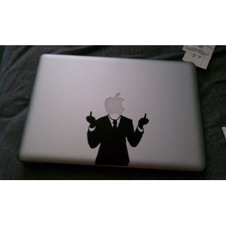 "The Original Mr. Mac   Flippin' Ya Off   13"" Macbook Decal: Computers & Accessories"