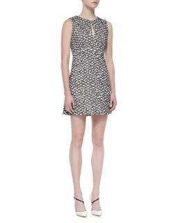 Womens Yvette Sleeveless Two Tone Knit Dress   Diane von Furstenberg