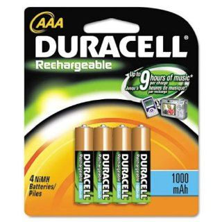 Duracell 4 pk Ni MH AAA DC2400B4N Rechargeable Batteries: Electronics