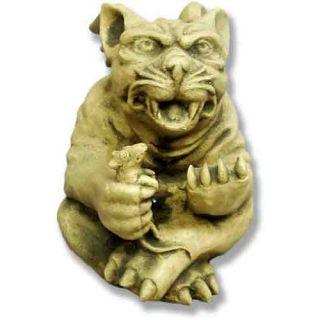 Mouse Catcher Gargoyle Statue   Garden Statues