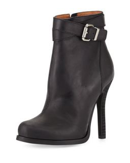 Belair Leather High Heel Bootie, Black   Jeffrey Campbell   Blk (8 1/2B)