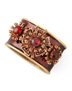 Firework Bracelet, Ruby Red   Oscar de la Renta   Ruby