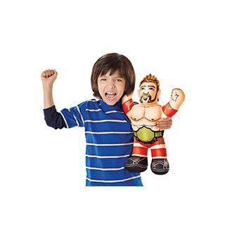 WWE Championship Brawlin' Buddies Sheamus Action Figure: Toys & Games