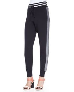 Womens Sammi Side Stripe Knit Pants   Rag & Bone   Midnight (MEDIUM)