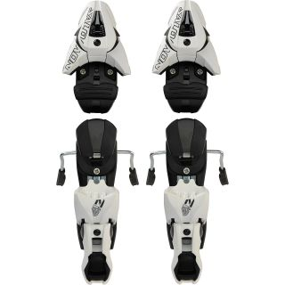 SALOMON Z12 Ti Ski Bindings   2011 / 2012   Size: 100, White/black