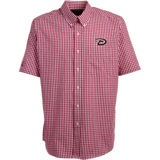 Antigua Arizona Diamondbacks Mens Scholar Button Down Short Sleeve Shirt