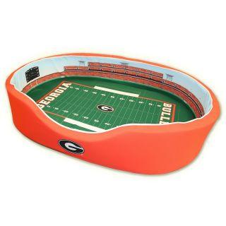 Stadium Cribs Georgia Bulldogs Football Stadium Pet Bed   Size: Large, Georgia