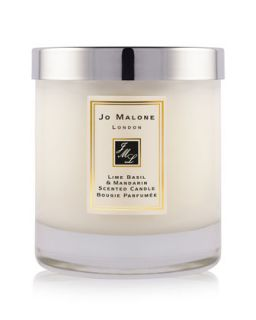 Lime Basil & Mandarin Home Candle, 7 oz.   Jo Malone London   Orange