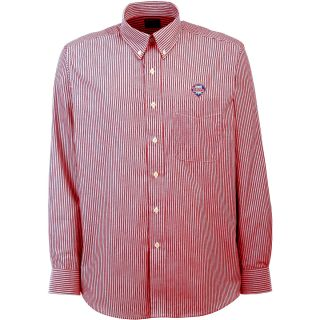 Antigua Philadelphia Phillies Mens Republic Button Down Long Sleeve Dress