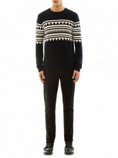 Aztec intarsia cashmere sweater  Chinti and Parker  MATCHESF