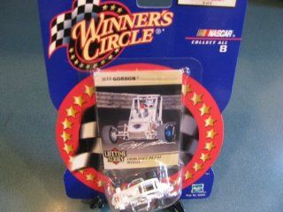 Jeff Gordon #4 Diet Pepsi Midget Winning Race Car Hut Hundred 1990 Midget Champion 1/64 Scale Winners Circle Lifetime Series Issue # 8 of 8: Toys & Games