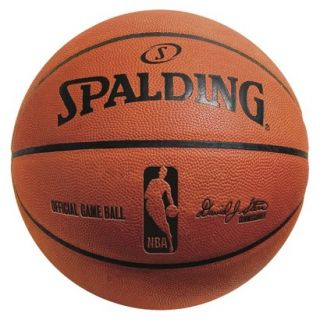 Spalding Official NBA Game Ball   Brown (29.5)